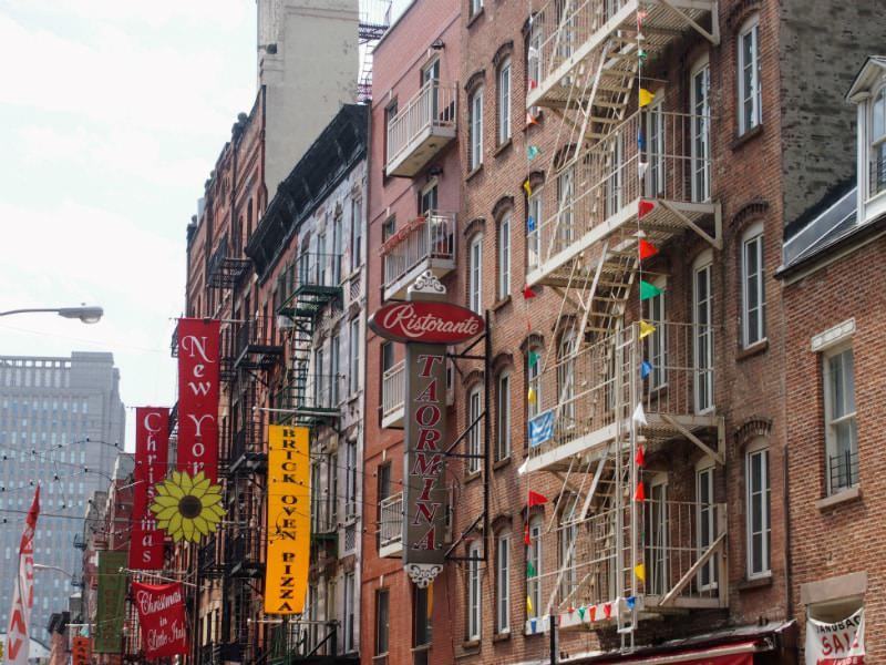Little Italy in Manhattan.
