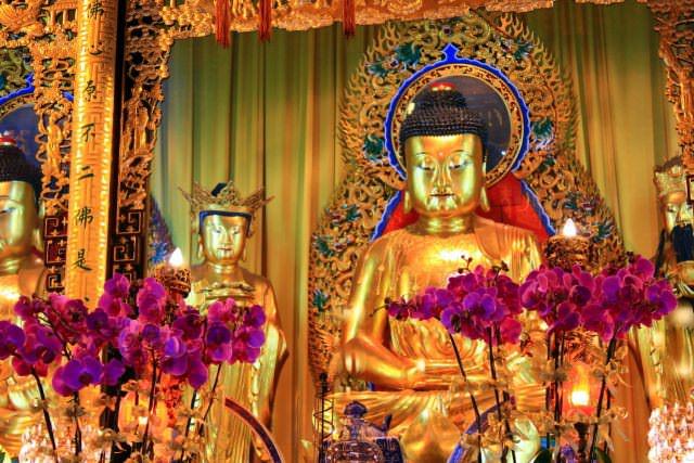 Po Lin Monastery on Lantau Island.